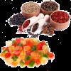 Saveurs fruits confits & épices