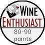 Wine Enthusiast 80-90